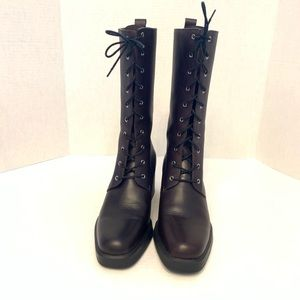 Harley Davidson women's lace up brown boots
